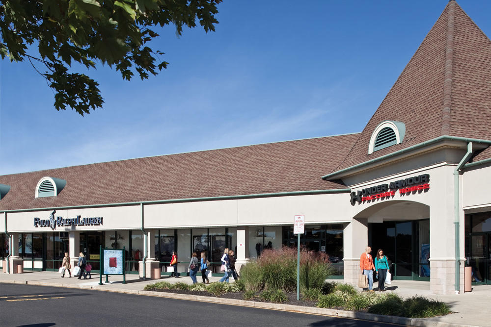 Tanger Outlets Atlantic City Outlets opened as The Walk in It now features over brand stores such as Nike, J Crew, Columbia Sportswear, Bass, and Calvin Klein (just to name a few).