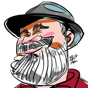 Big Al Caricature - Brentwood, CA - Commercial Artists