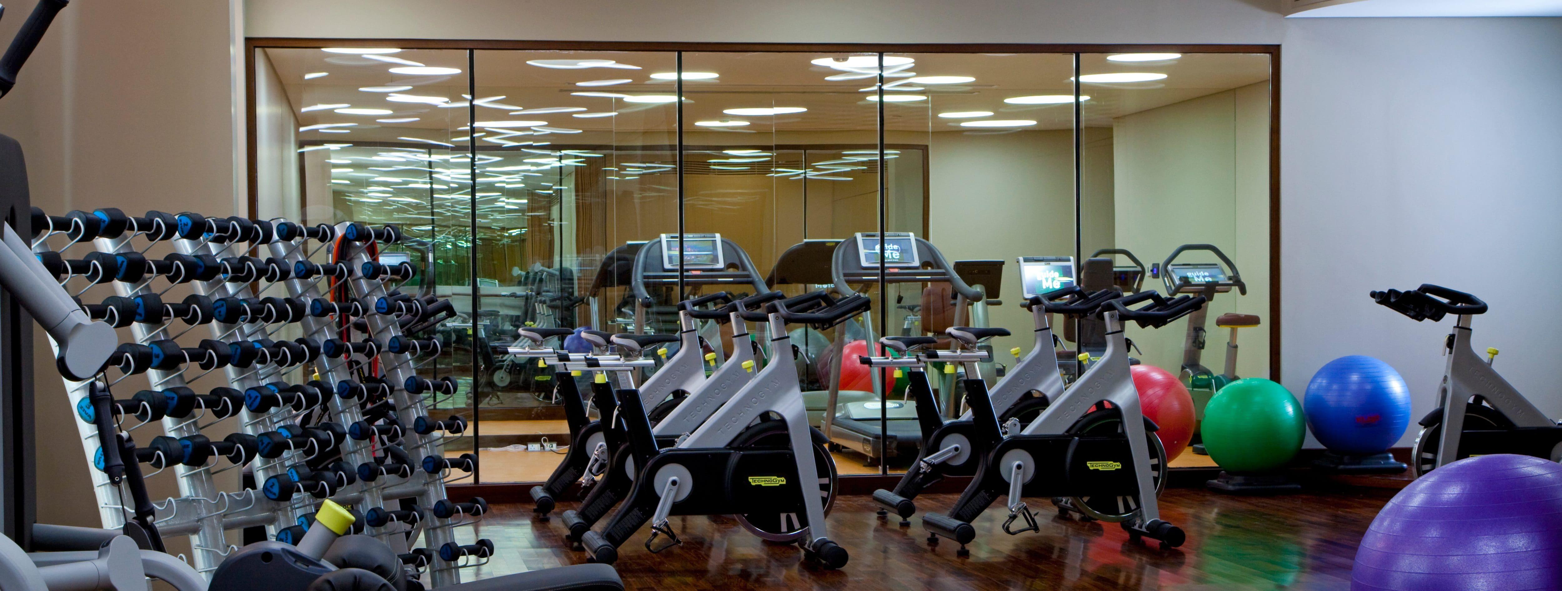 Men's Health Club at Al Faisaliah Hotel