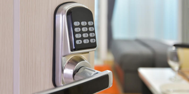 An electronic access system gives you control over who enters your building.