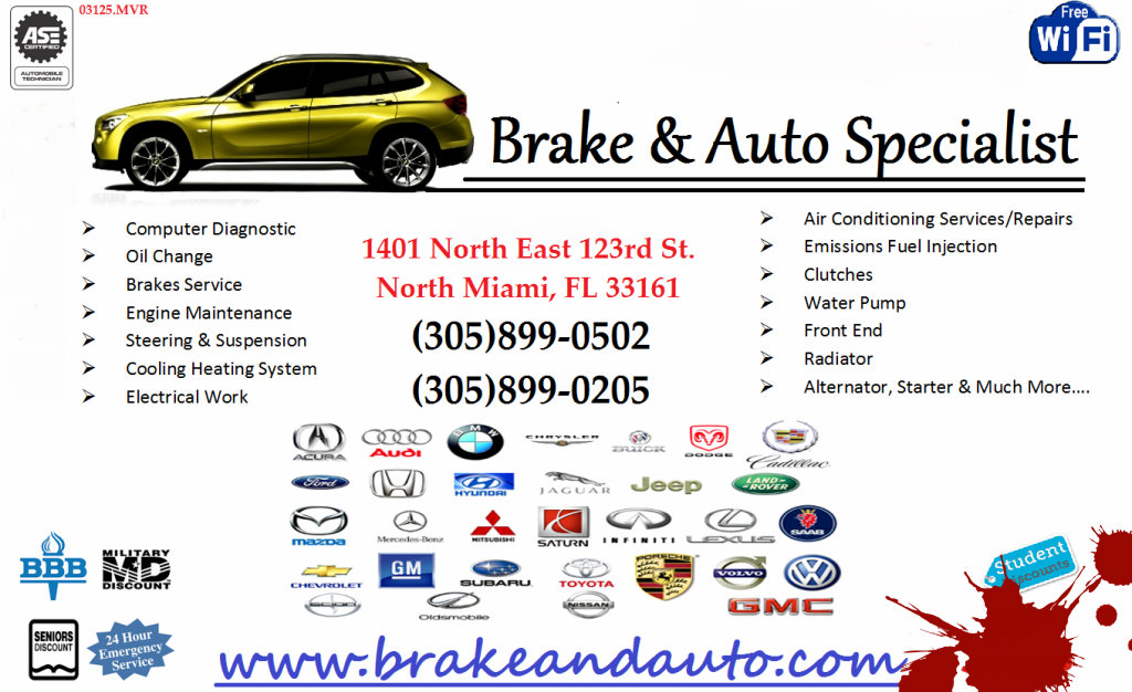 Brake and Auto Specialist & Transmission