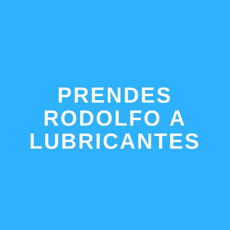 PRENDES RODOLFO- LUBRICANTES