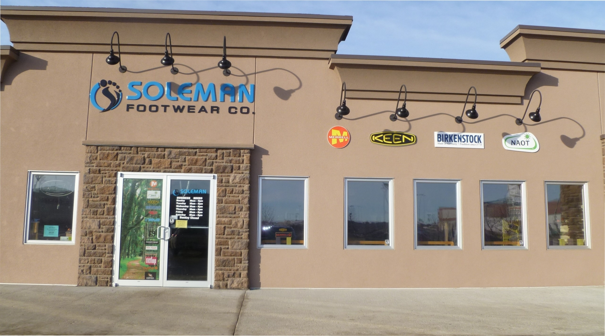 Soleman Footwear Co in Regina