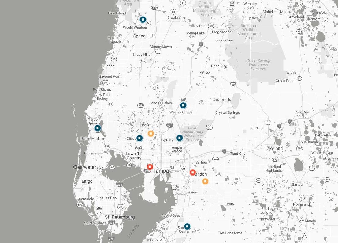 Florida Orthopaedic Institute Locations