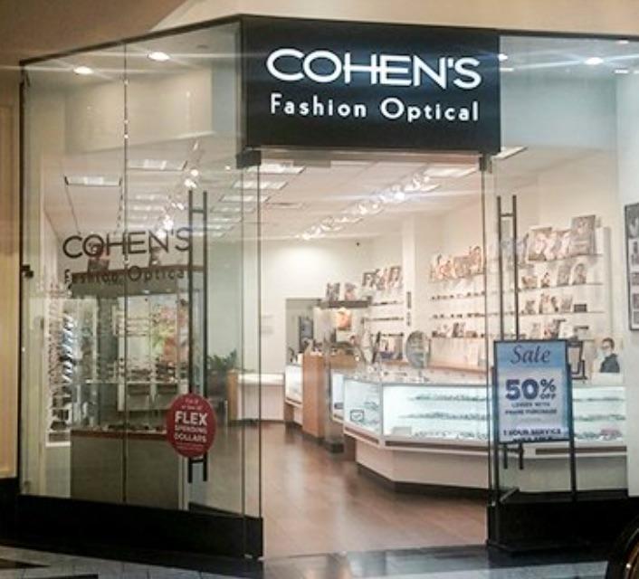 Cohen S Fashion Optical Hours