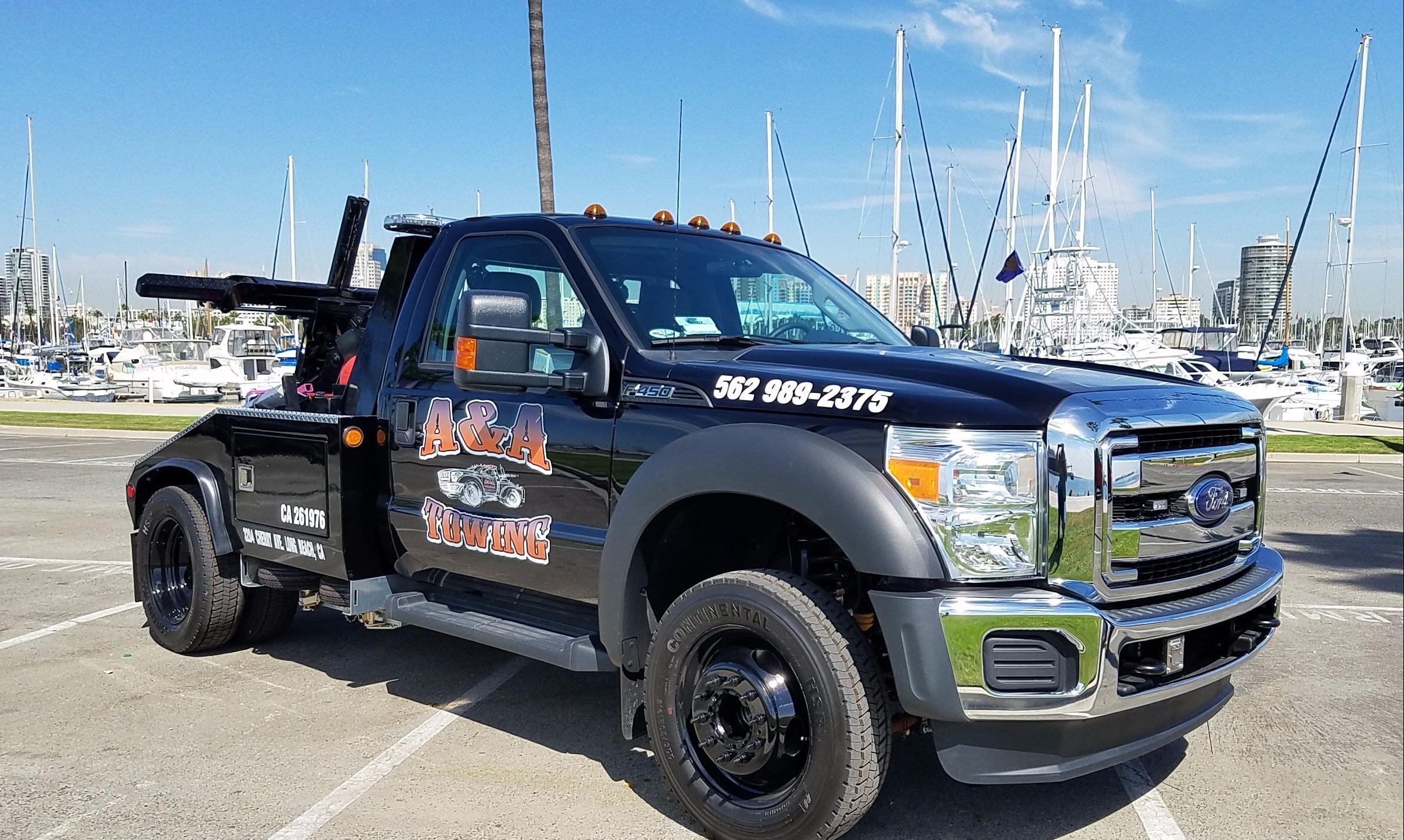 City Tow Service Long Beach Ca