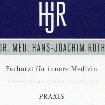 Bild zu Dr.Hans-Joachim Roth in Aschaffenburg