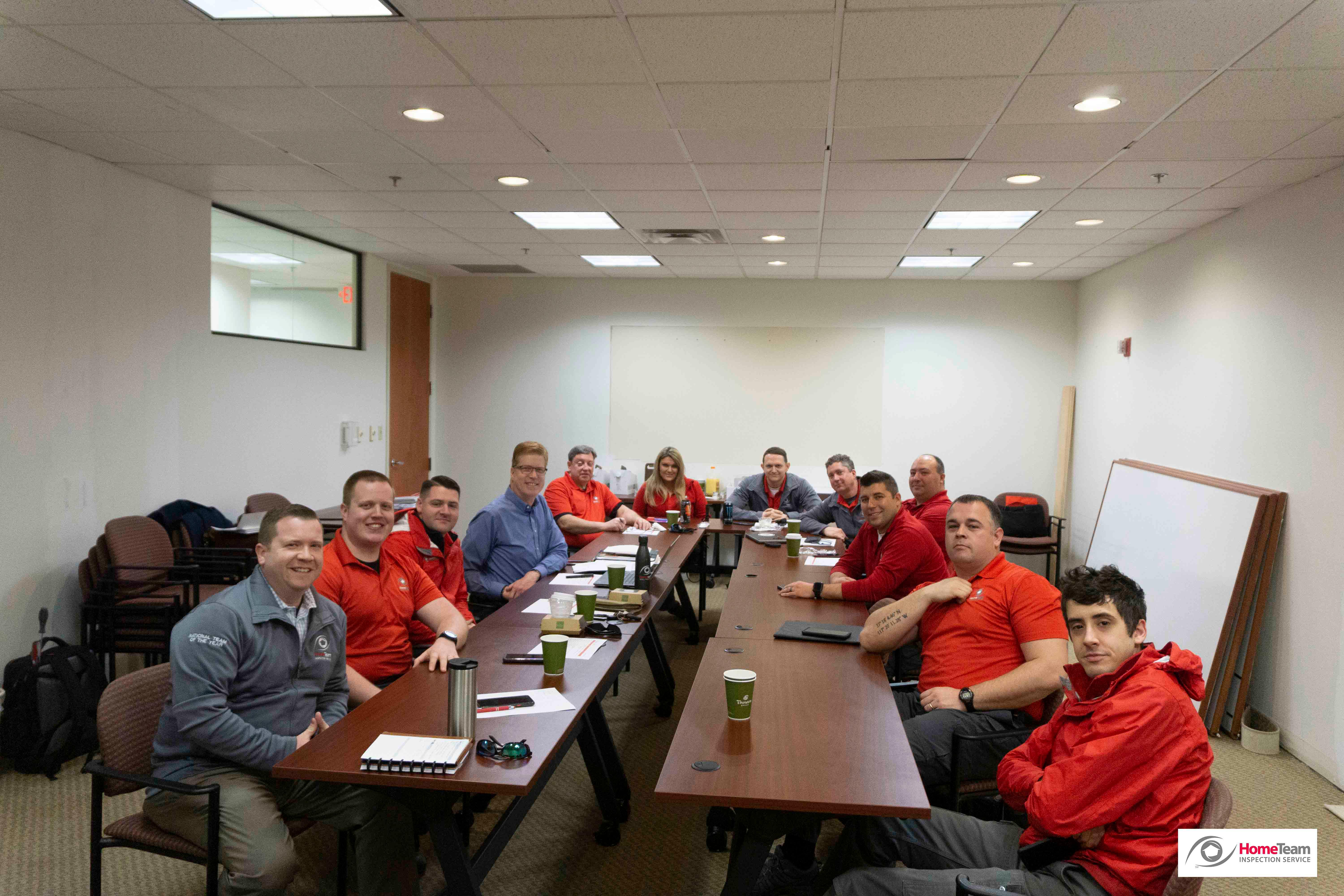 Even building construction can't distract this TEAM from our monthly educational meetings. Continuou HomeTeam Inspection Service Louisville (502)785-8142