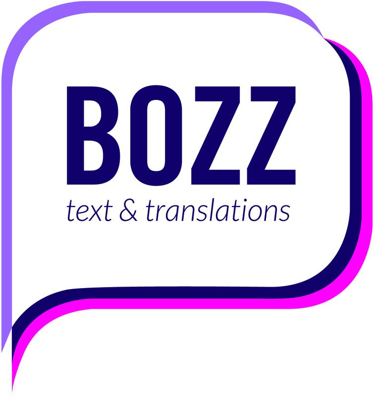 Vertaalbureau BOZZ text & translations