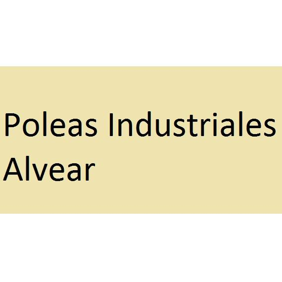 POLEAS INDUSTRIALES ALVEAR