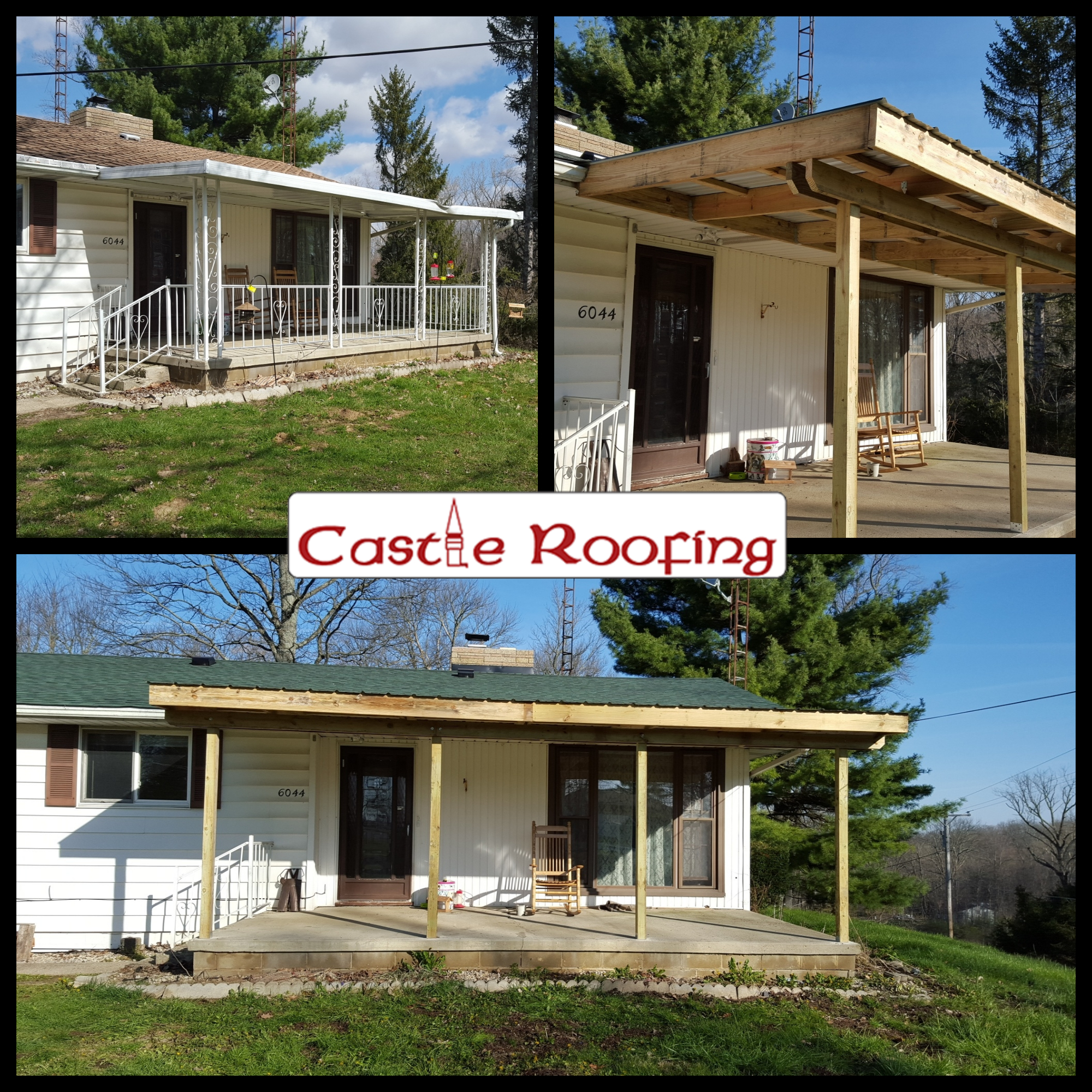 Castle Roofing In Dayton Oh Roofing Contractors Yellow