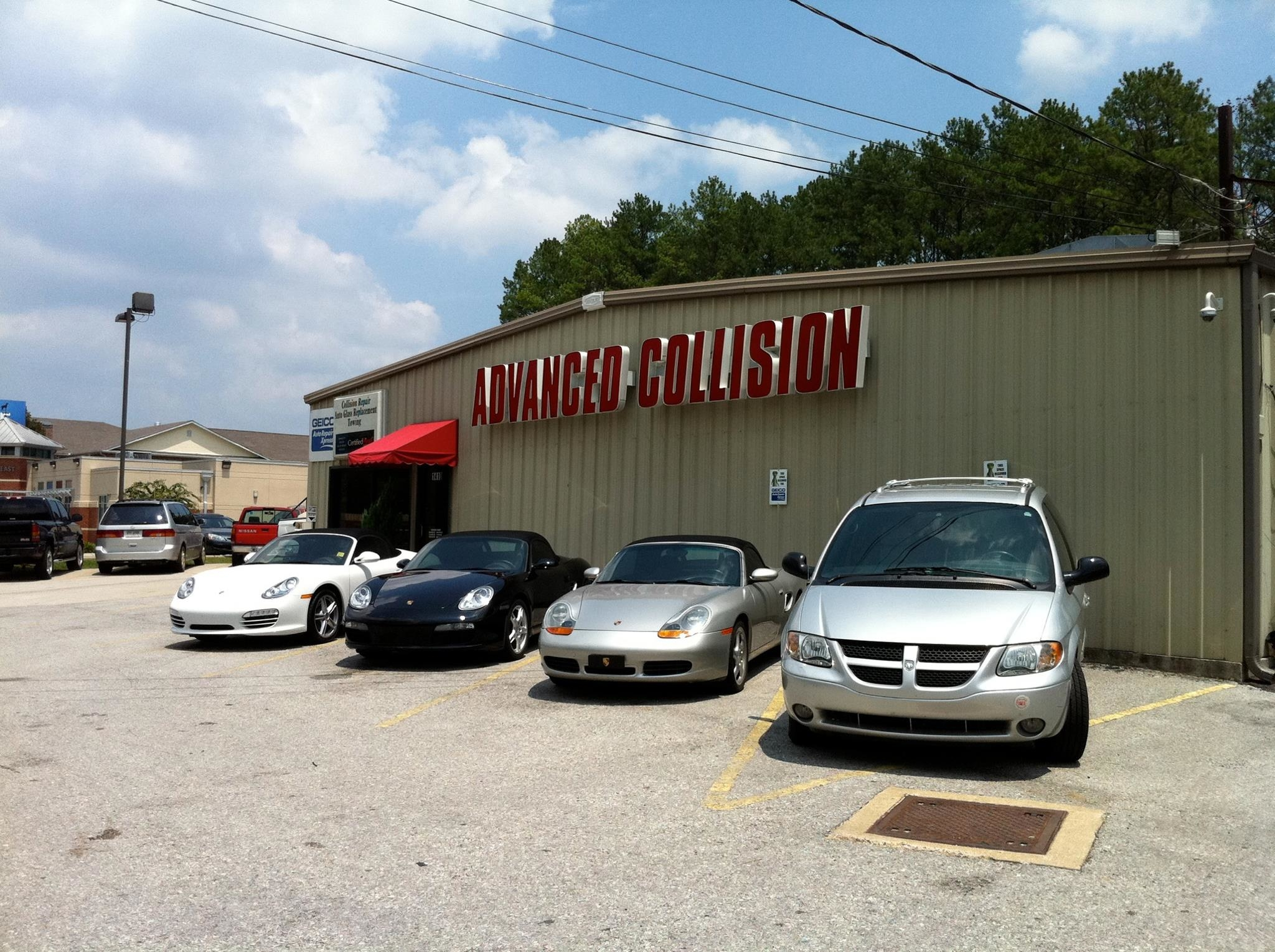 Advanced Collision Inc In Fort Oglethorpe Ga 30742