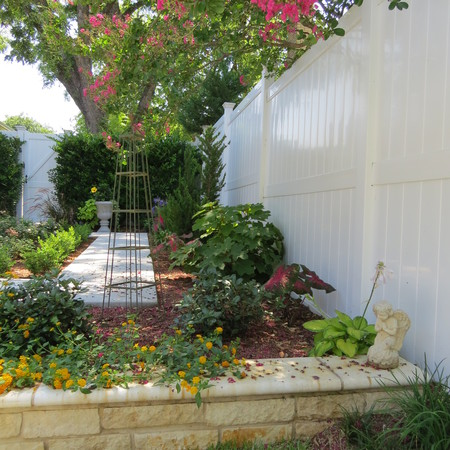 Fence in your yard and protect your garden!