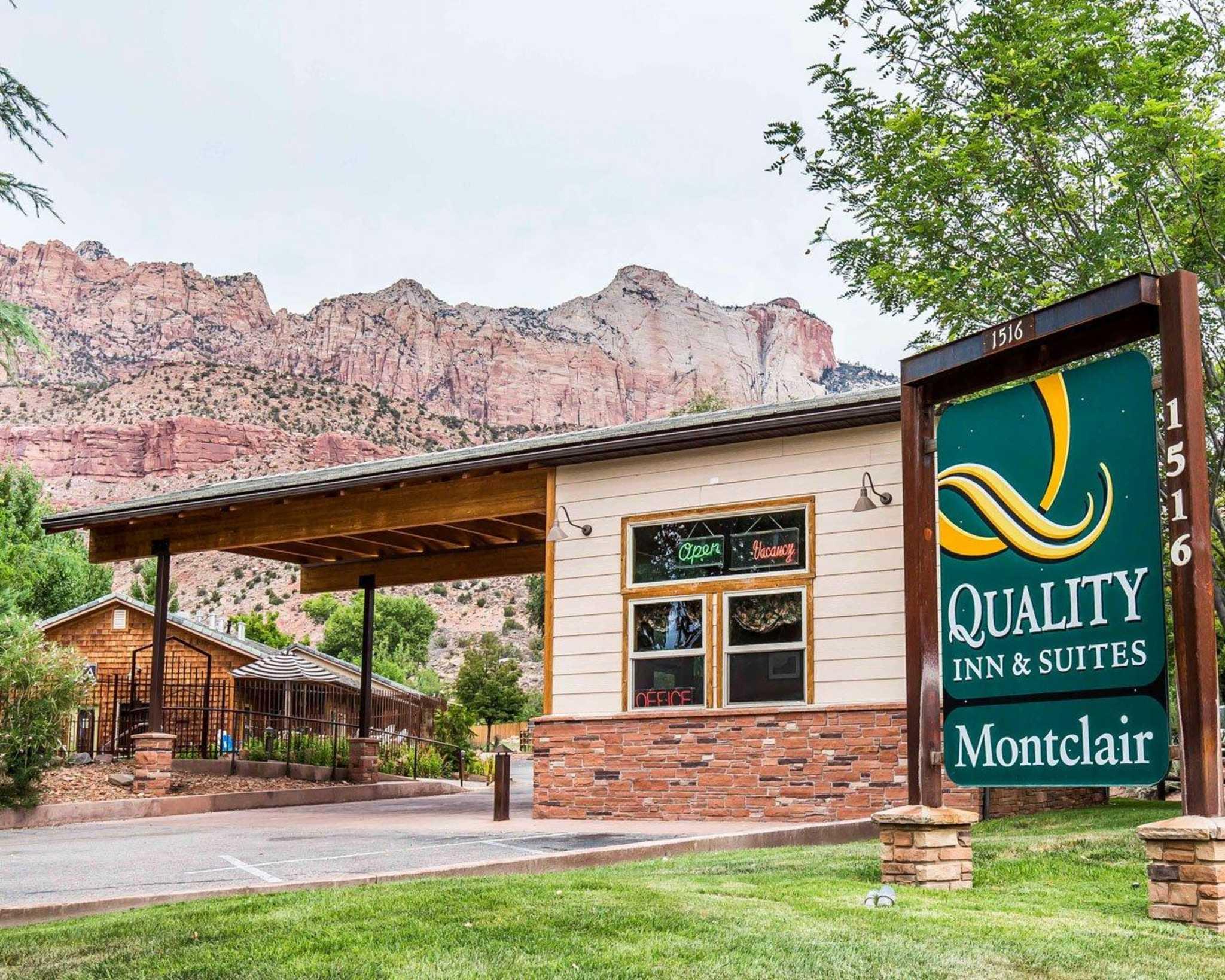 Quality Inn  U0026 Suites Montclair  Springdale Utah  Ut