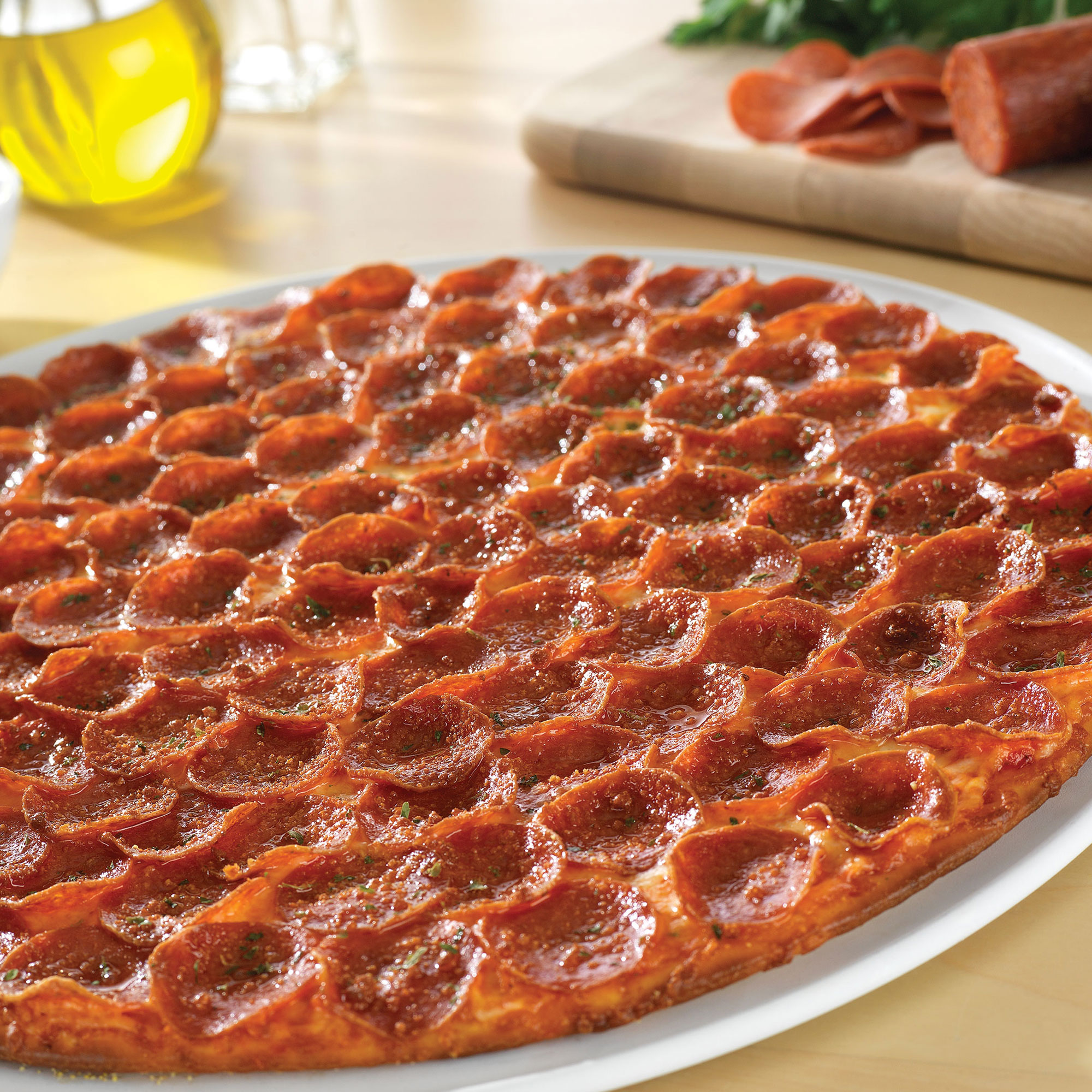 Donatos is a family-owned pizza company famous for Edge to Edge® toppings on a crispy golden thin crust. Founded in Columbus, Ohio in , we take pride in .