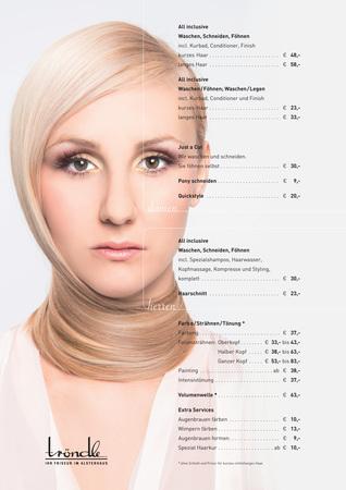 Tröndle Ihr Friseur im Alsterhaus