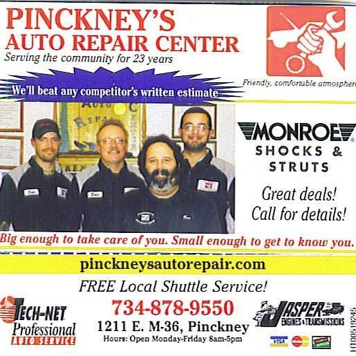 Pinckney's Auto Repair Center
