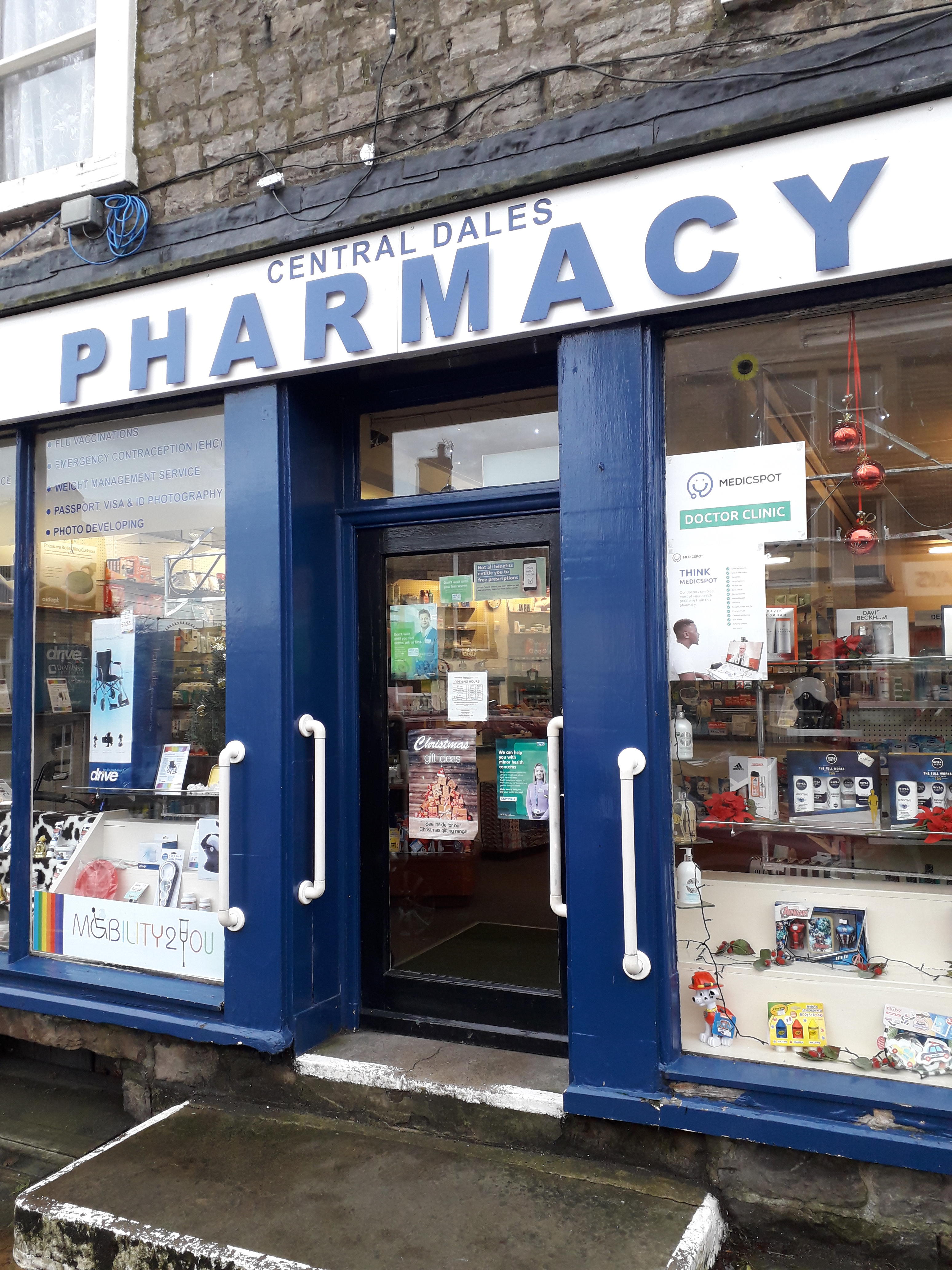 Pharmacy Store Front Medicspot Clinic Hawes Hawes 01969 600104