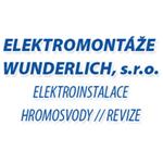 Elektromontáže Wunderlich, s.r.o. Logo