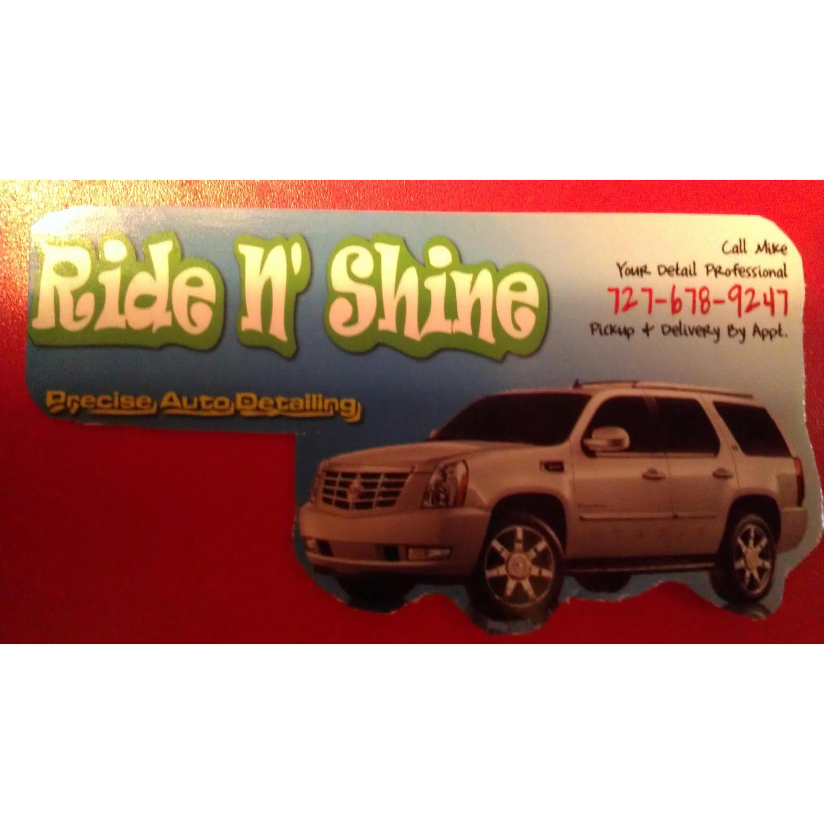 Ride N Shine Mobile Auto Detailing - Pinellas Park, FL 33781 - (727)678-9247 | ShowMeLocal.com
