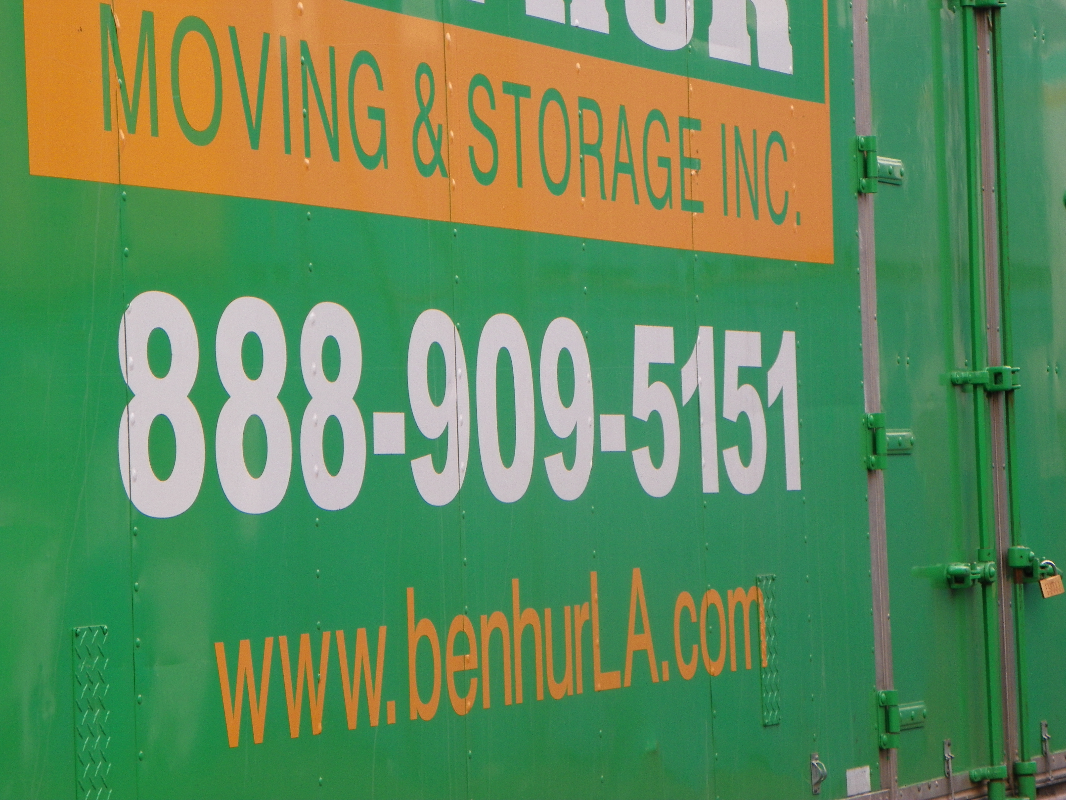 benHur Moving and Storage Inc