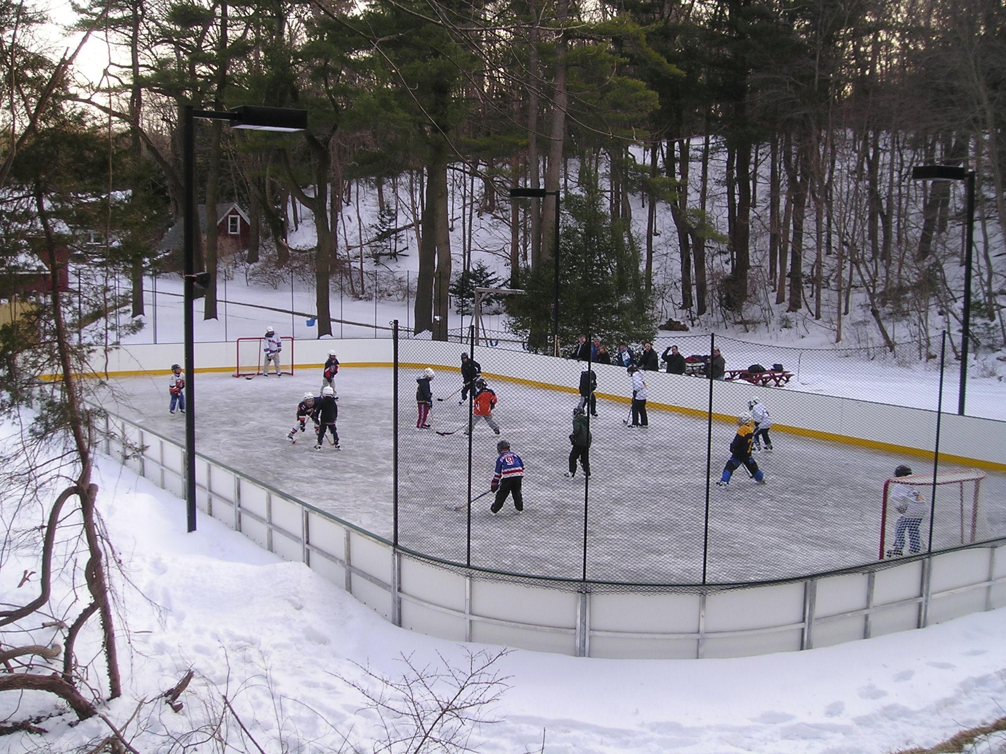 Custom Ice Rinks in Burlington