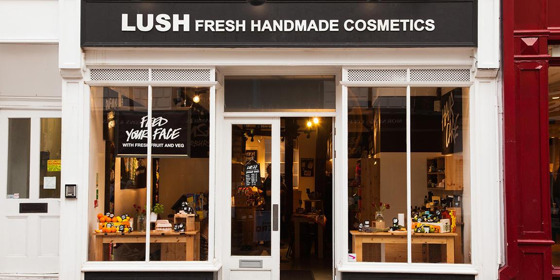 Canterbury shop front