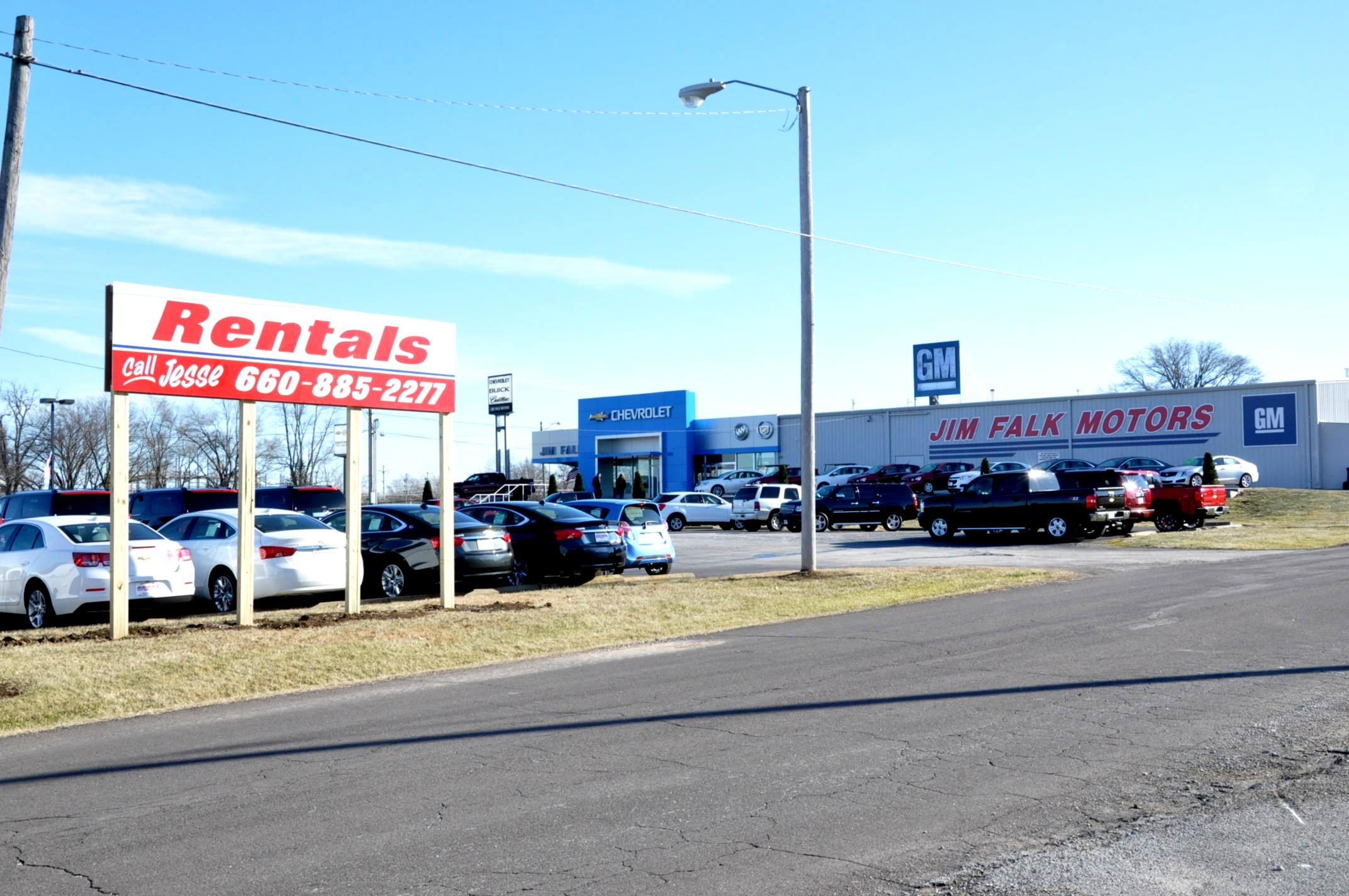 Jim Falk Car Rentals Clinton Missouri Mo Localdatabase Com