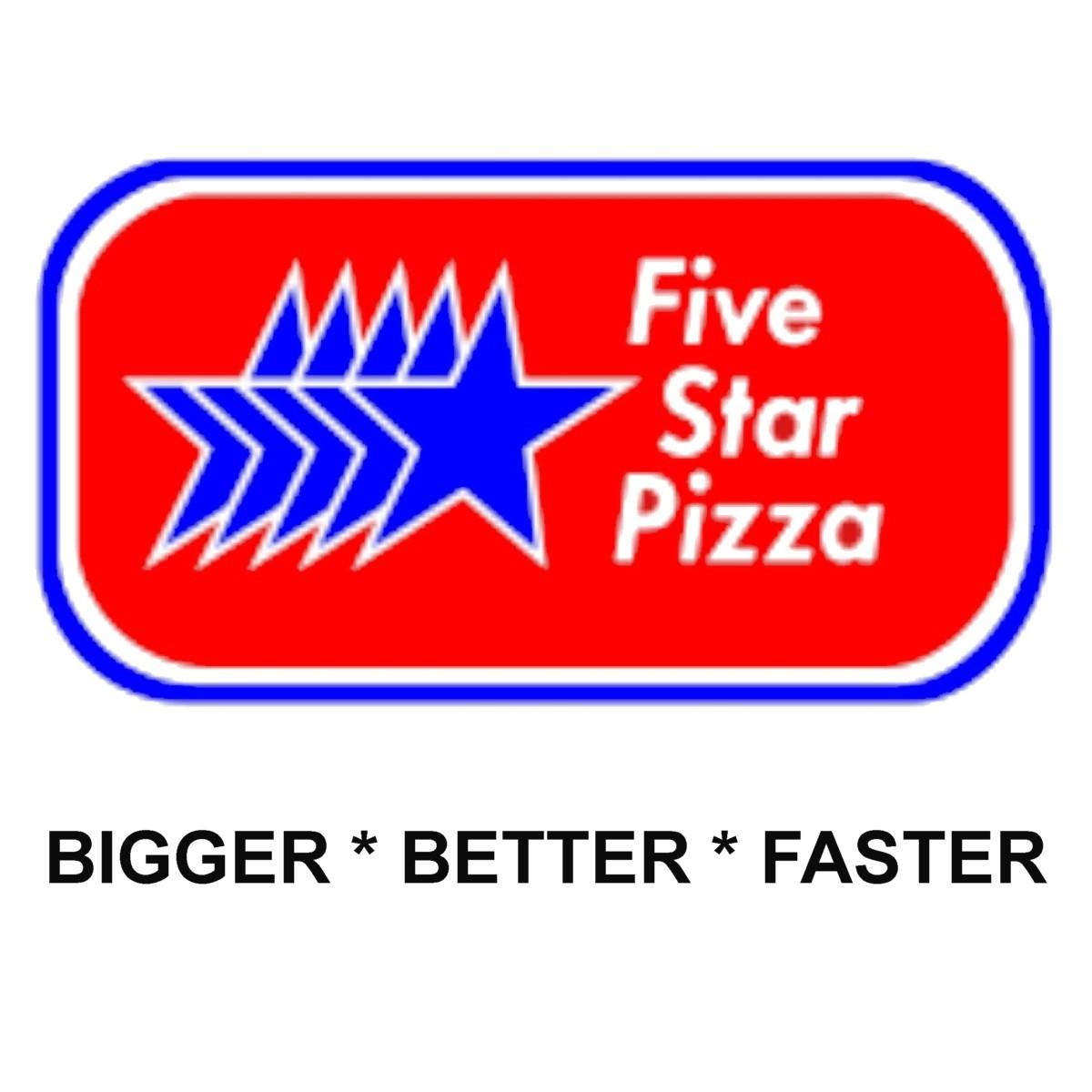 Restaurant in FL Palm Coast 32137 Five Star Pizza 1224 Palm Coast Pkwy SW  (386)246-9699