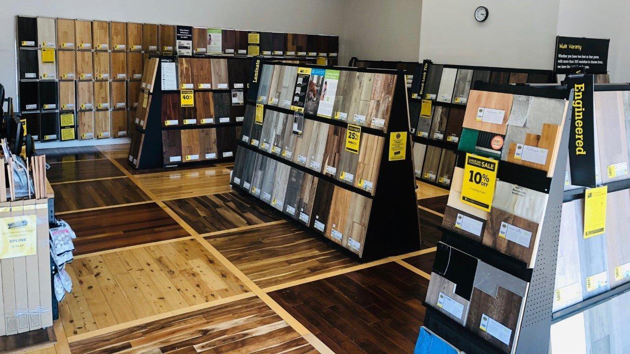LL Flooring #1160 Saint Peters | 4016 North Service Road | Showroom