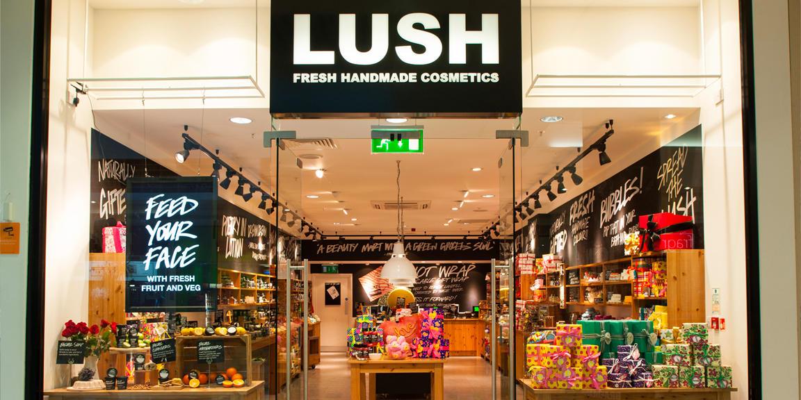 Lush Glasgow Braehead shop front