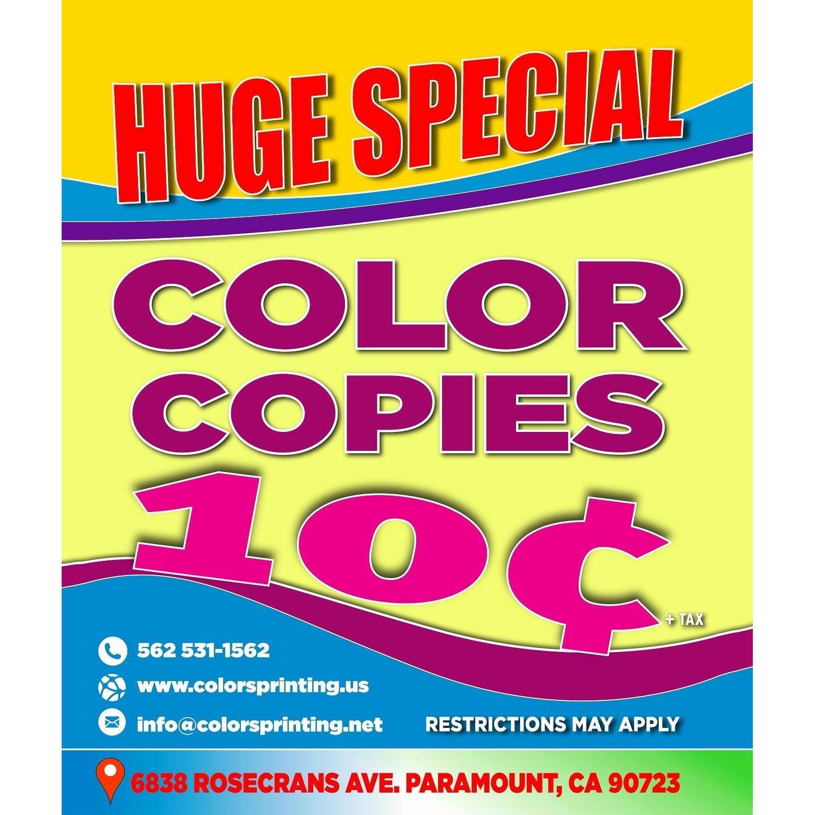 Colors Printing