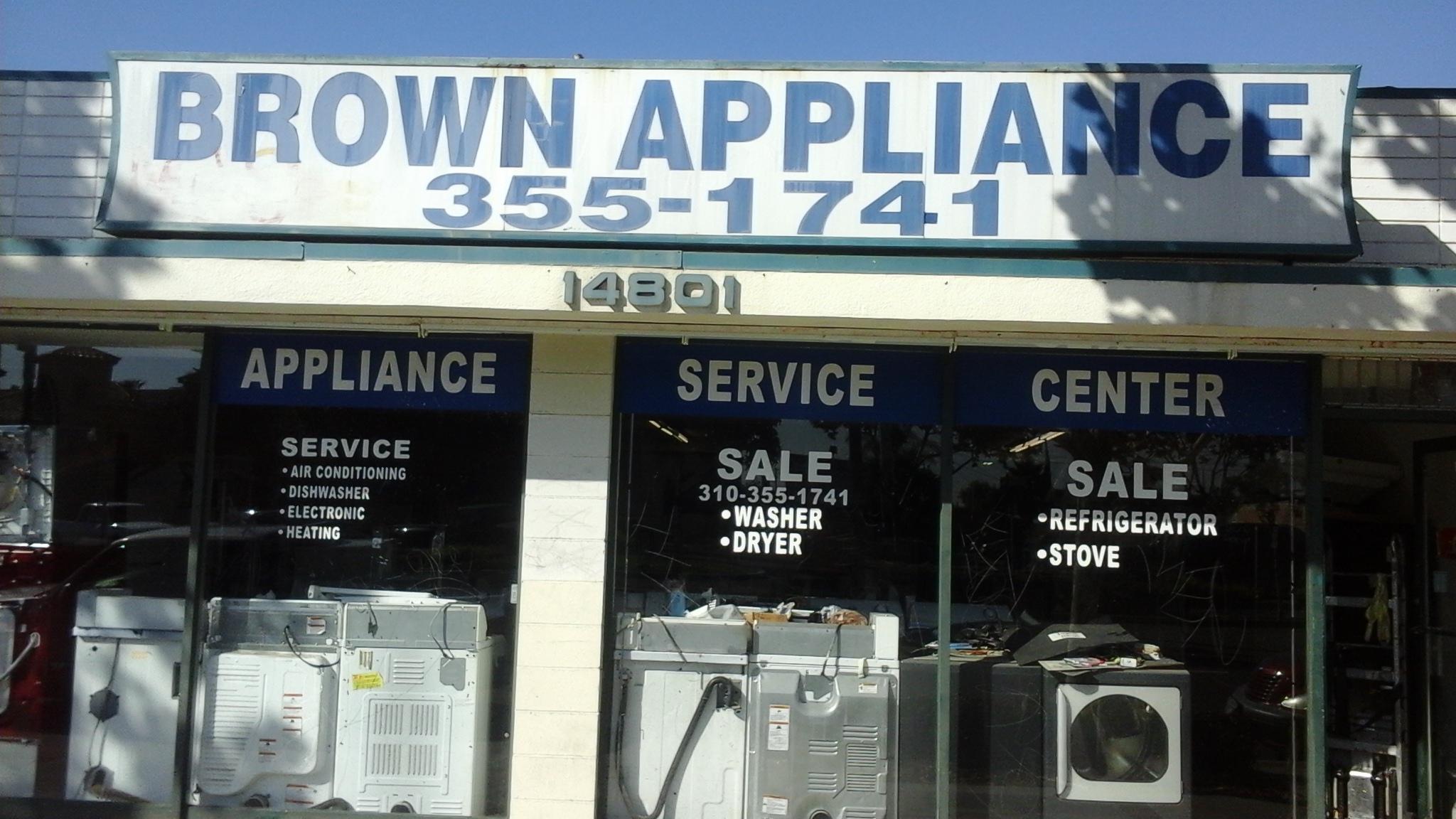 Brown Appliances