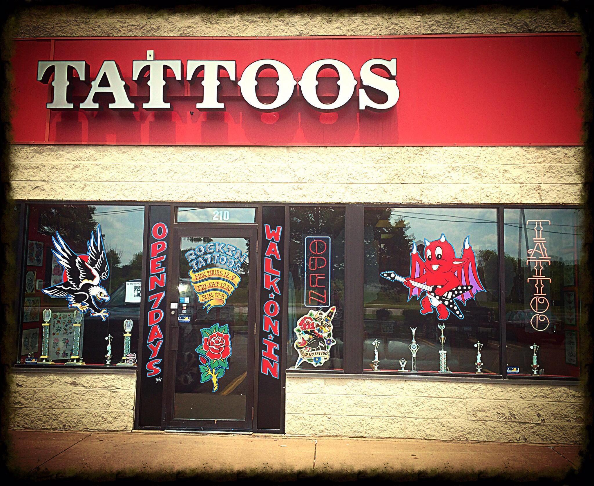 Rockin tattoos in eagan mn 55121 for Tattoo shops in mn
