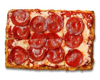 Pepperoni Pizza made by P.ZA Kitchen.