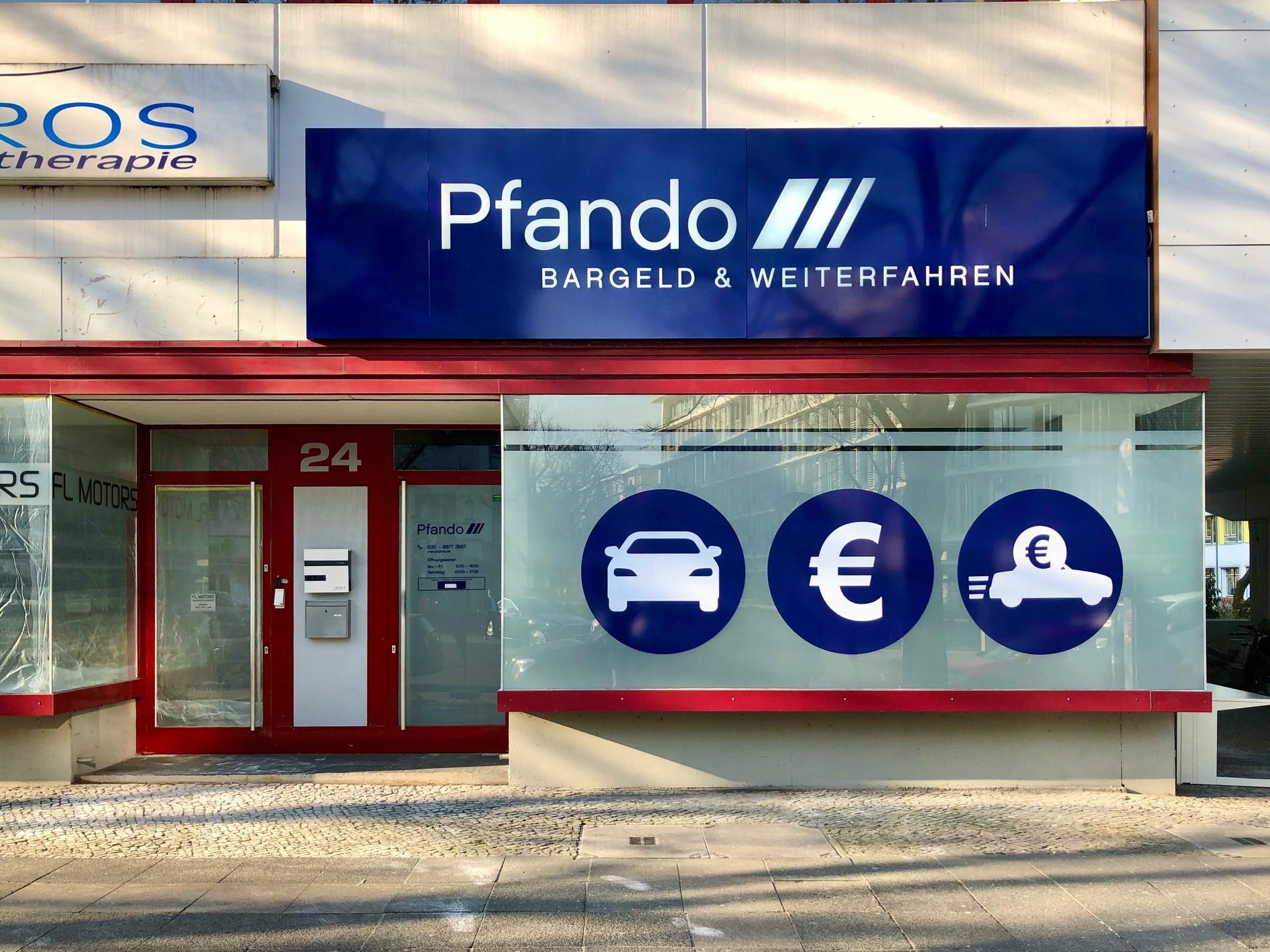 Pfando - Kfz-Pfandleihhaus Berlin