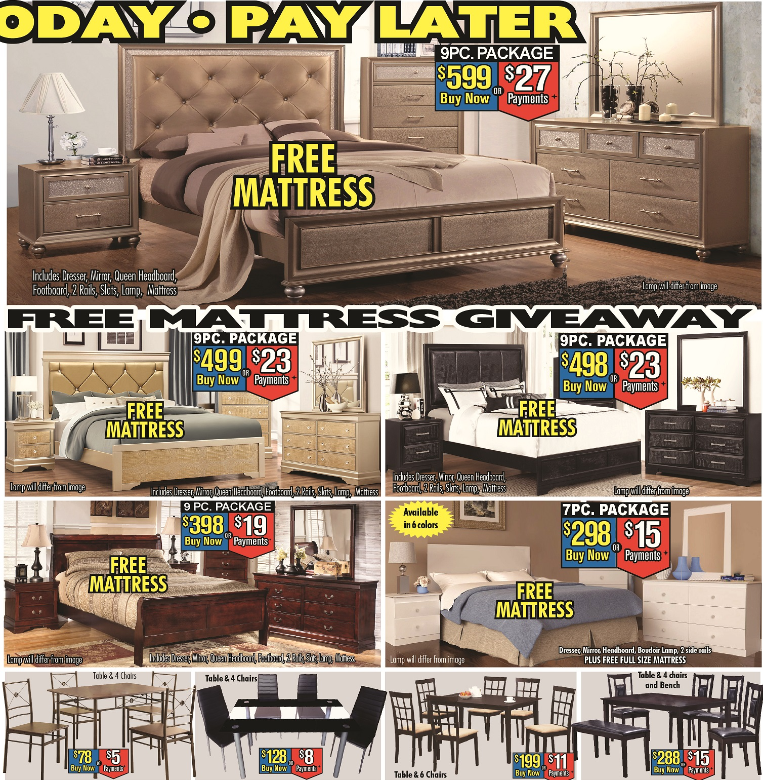 Furniture Stores With Prices: Price Busters Discount Furniture, Essex Maryland (MD
