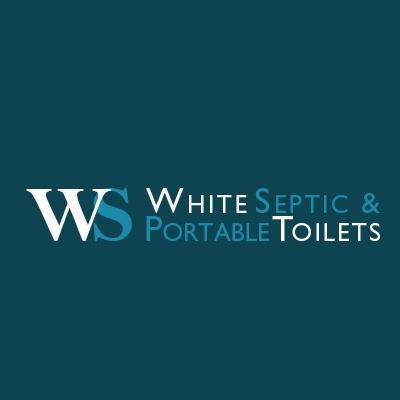 White Septic & Portable Toilets