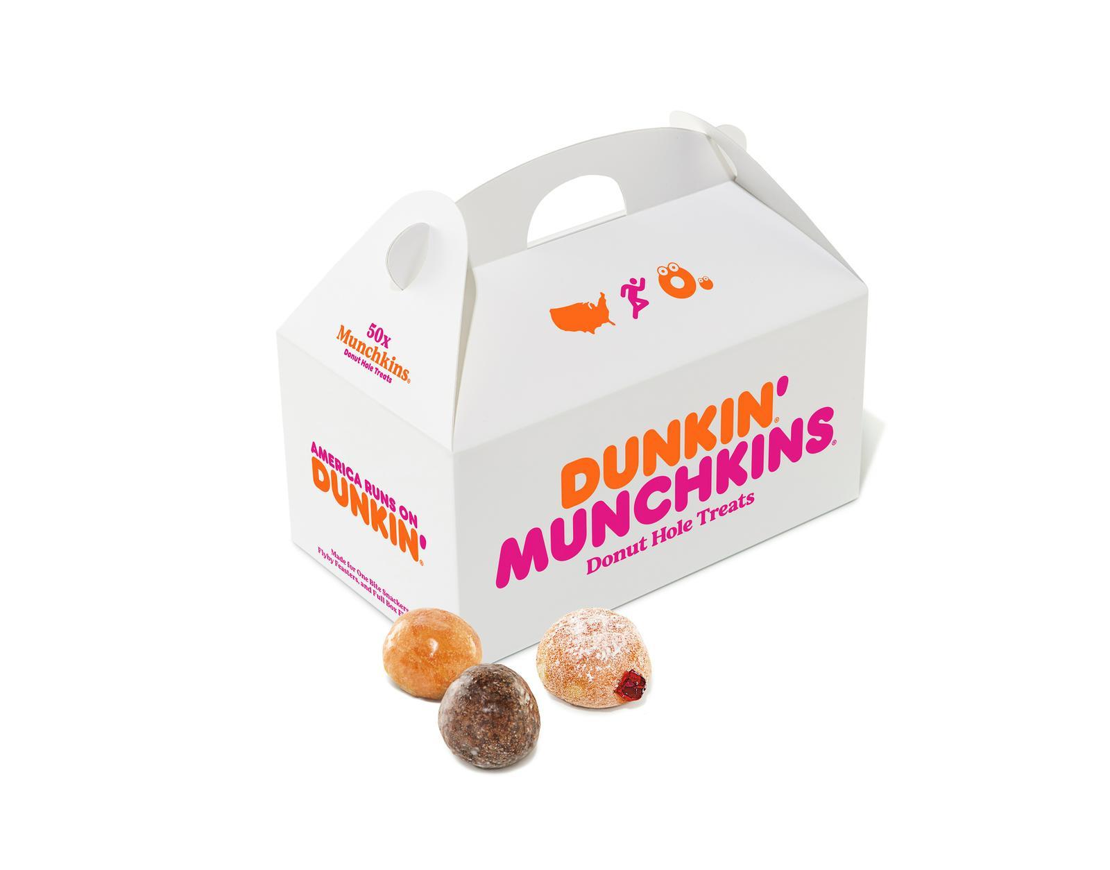 Dunkin' Munchkin Donut Hole Treats