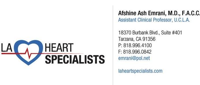 LA Heart Specialist: Dr. Afshine Emrani, MD image 1