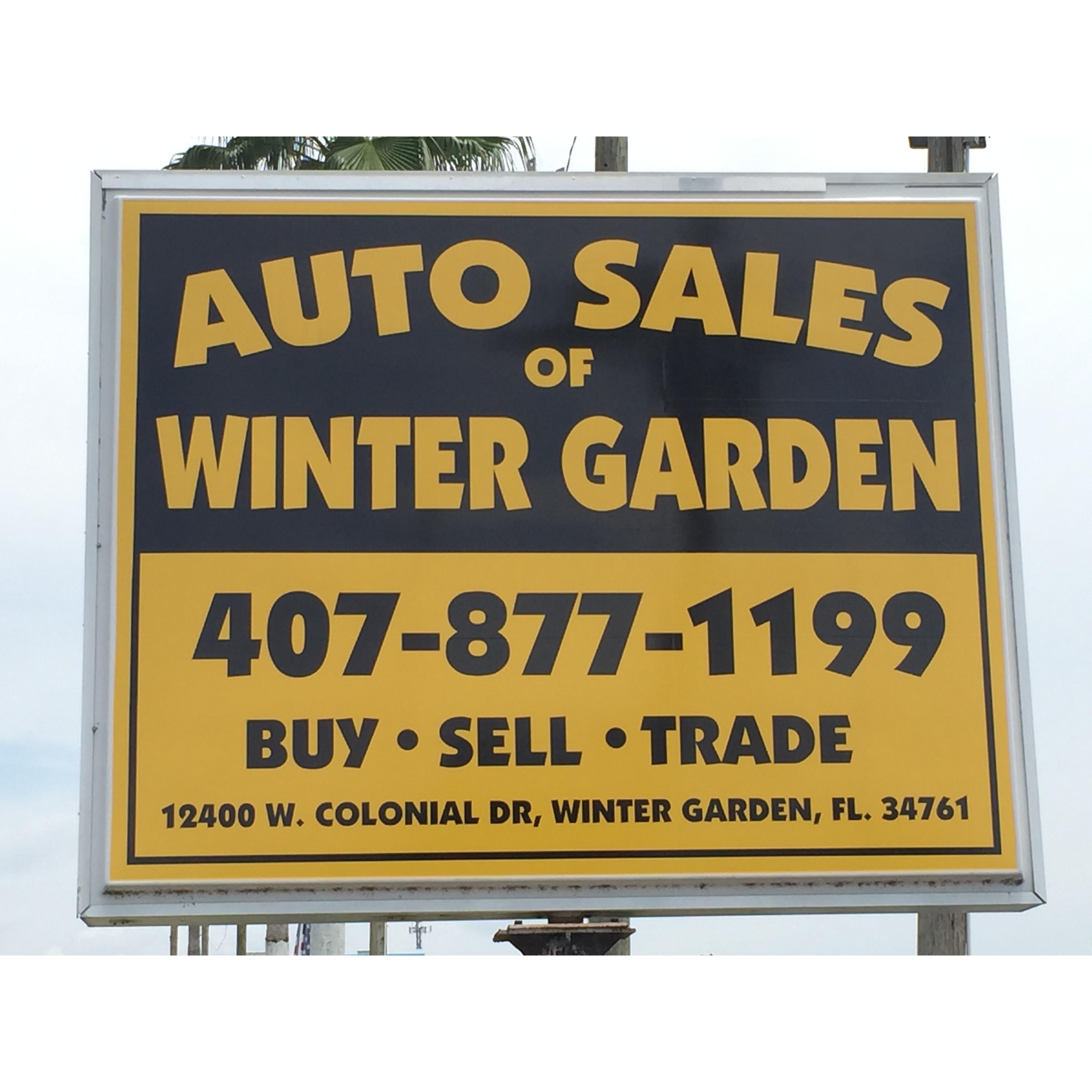 Auto Sales Of Winter Garden Winter Garden Florida Fl