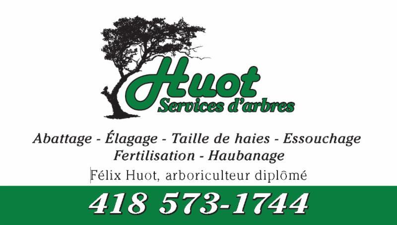 Huot Services D'arbres Cap-Sante (418)573-1744