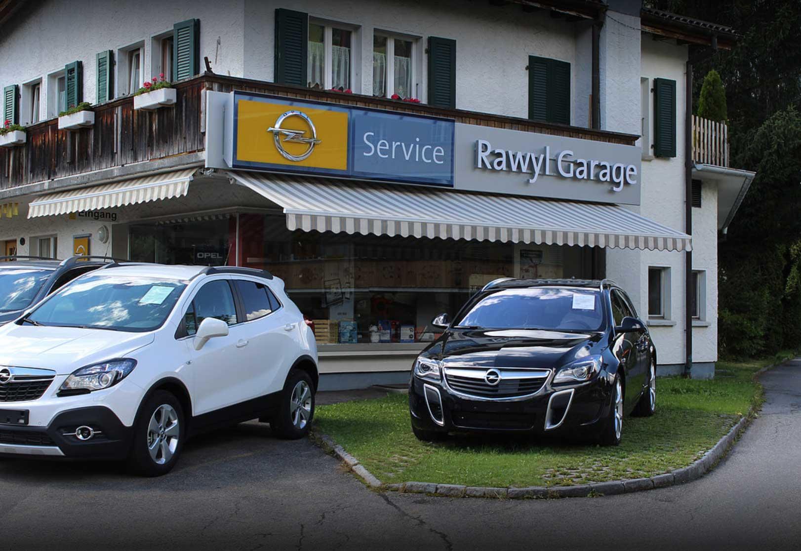 Rawyl garage carrosserie ag automechaniker lenk for Garage opel region parisienne