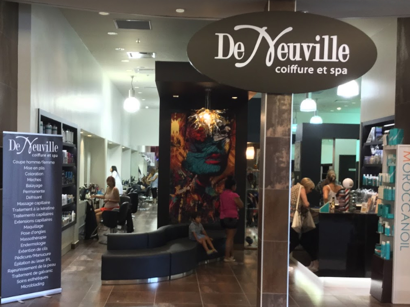 De Neuville Coiffure Et Spa Inc à Brossard