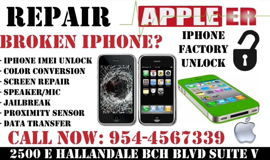 apple iphone repair apple er 2500 e hallandale blvd suite v hallandale 2500