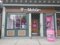 Exterior photo of T-Mobile Store at Washington & 2nd, Hoboken, NJ