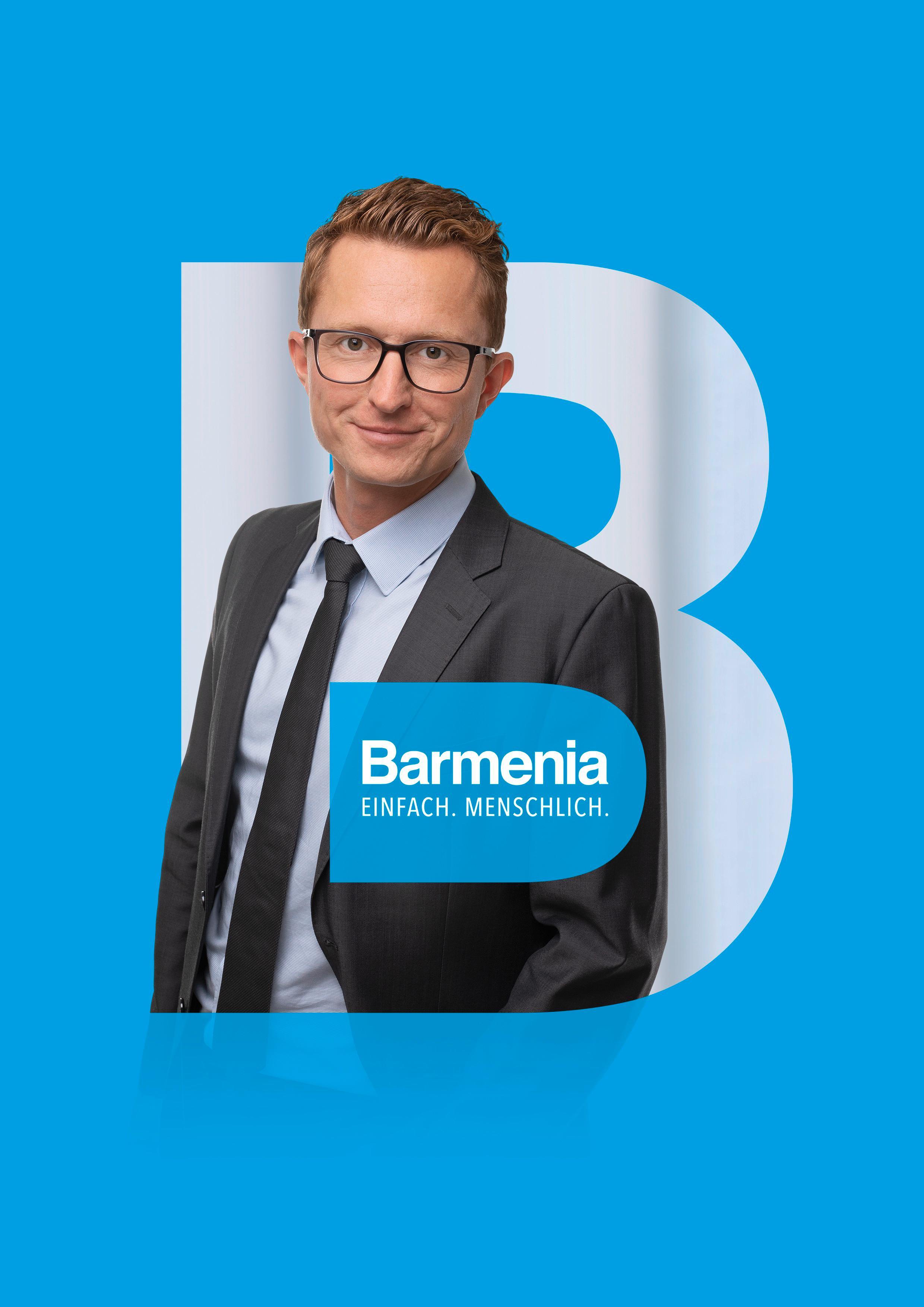 Fabian Ellmann. Ihr Ansprechpartner für die Barmenia Versicherung in Bayreuth.