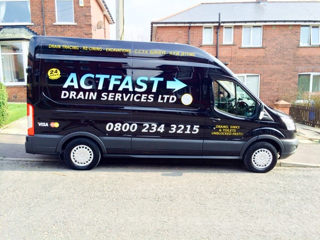Act Fast Drain Services Rochdale 08002 343215