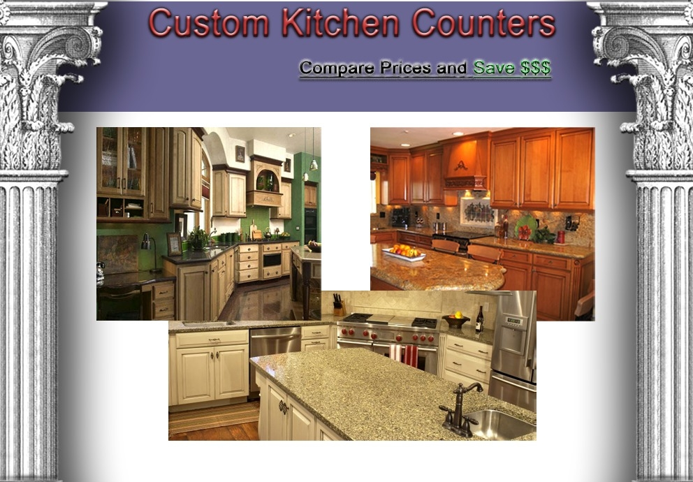 Custom Kitchen Counters - San Fernando, CA