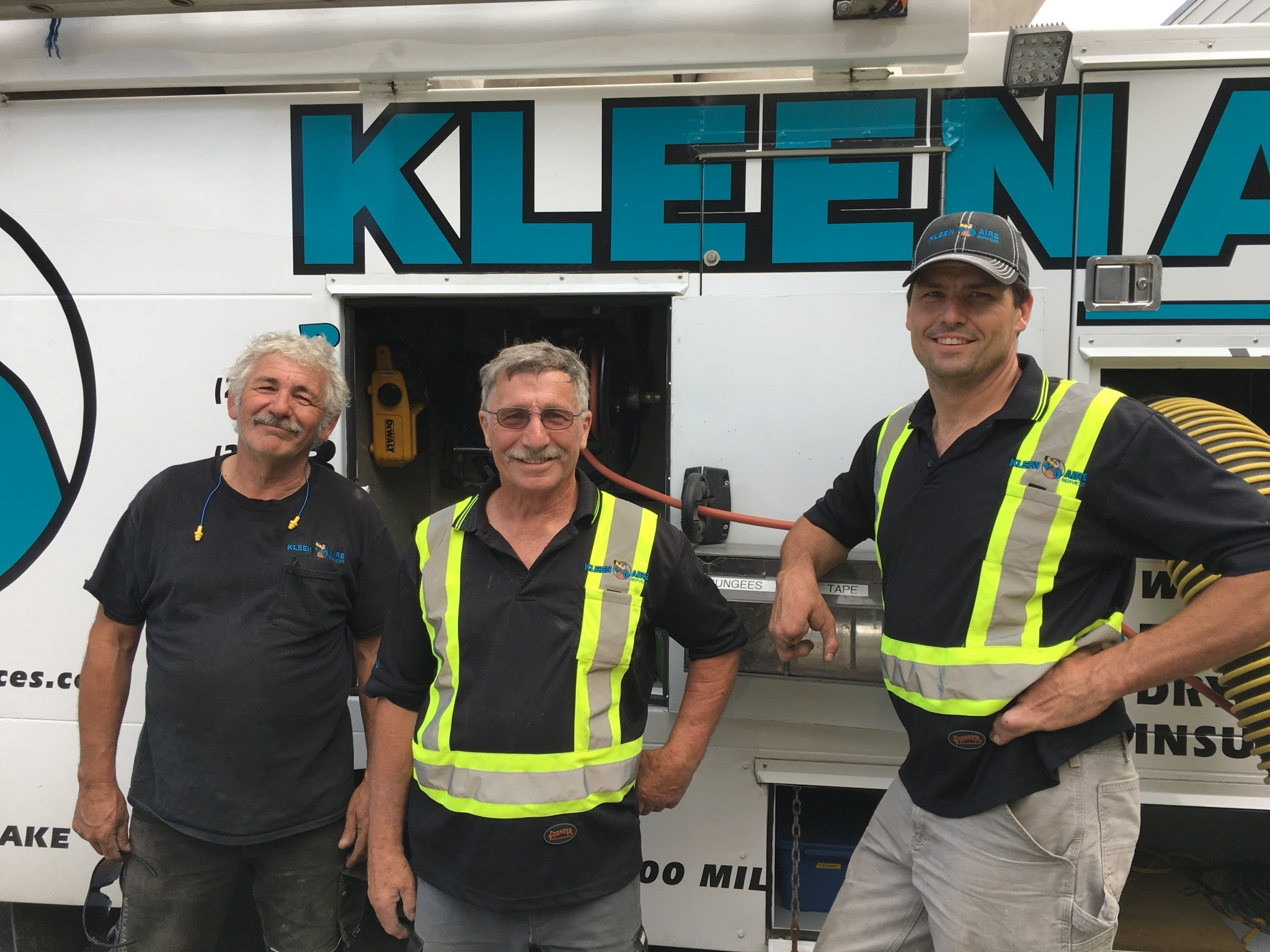 Kleen Aire Services in Williams Lake: Shayne and the crew